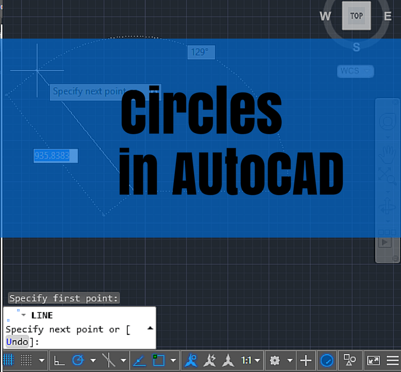 How To Draw An Oval In Autocad