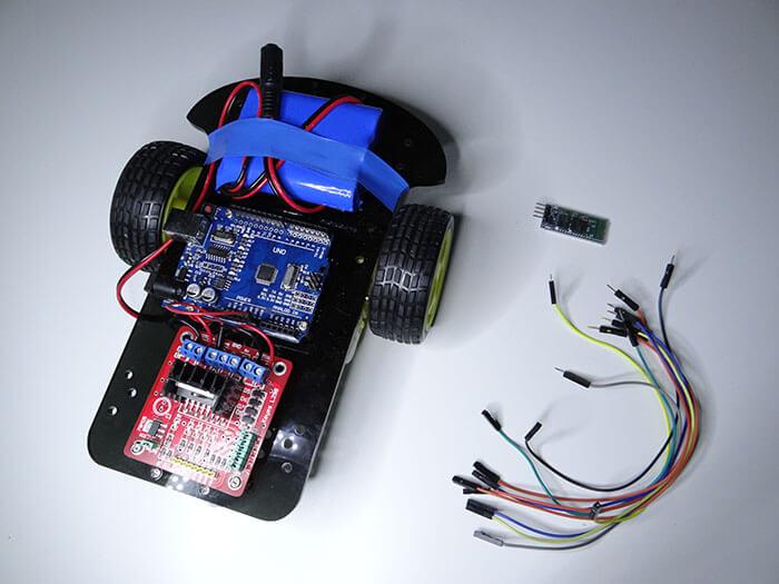 With Arduino Bluetooth Rc Car On Arduino Bluetooth Rc Car Circuit