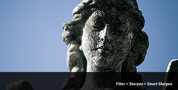Sharpening a Photo with the Sharpen Filter