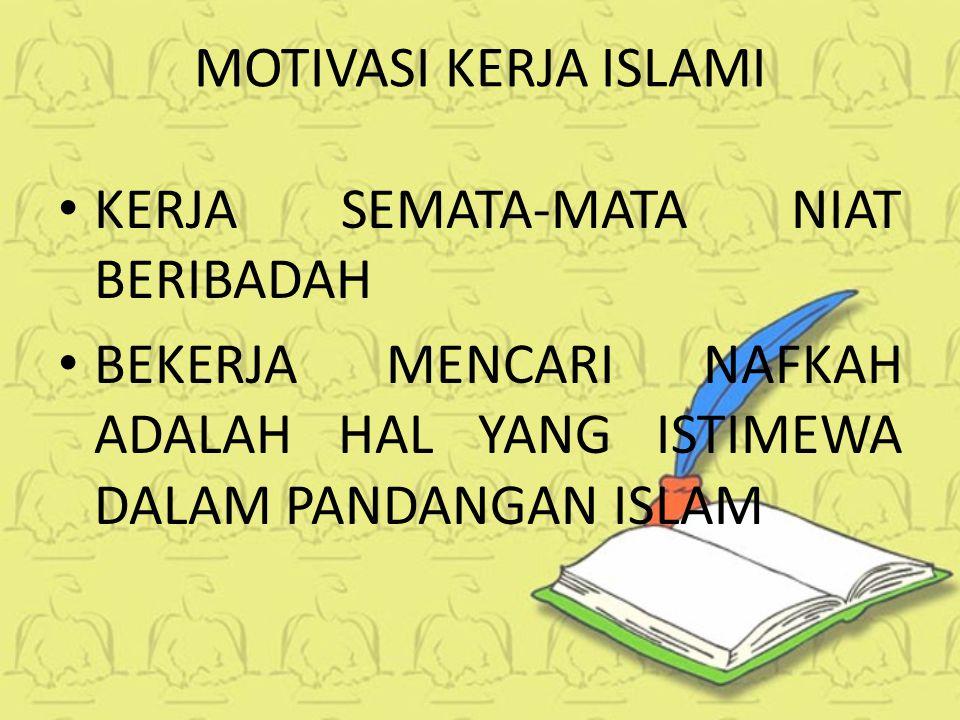 Meme motivasi kerja islami terbaru