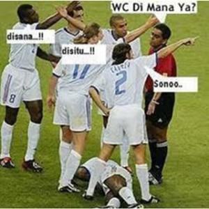 Meme seputar sepak bola gokil terbaru