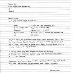 Contoh Daftar Riwayat Hidup CV (Curriculum Vitae) Tulis Tangan 2017