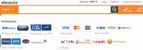 Cara Bayar Cicilan belanja online tanpa kartu Kredit elevenia