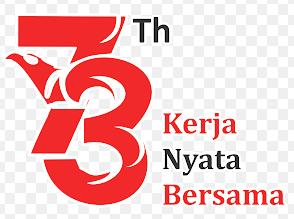 logo hut ri ke 73 tahun 2020