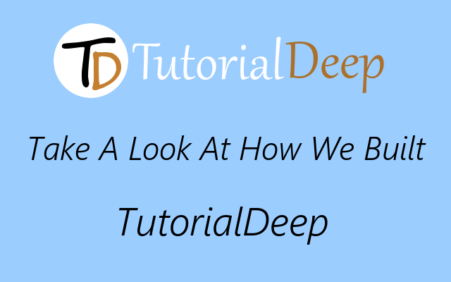 Tutorialdeep Blueprint