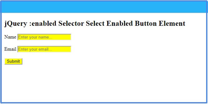 jquery-enabled-selector