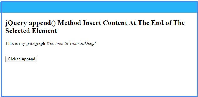 jquery-append-method
