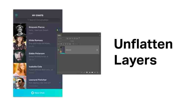 Unflatten-Layers