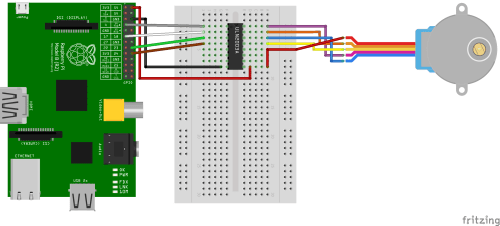 small resolution of raspberry pi stepper motor control with l293d uln2003a raspberry pi 2 pinout on 3 phase motor starter circuit diagram of
