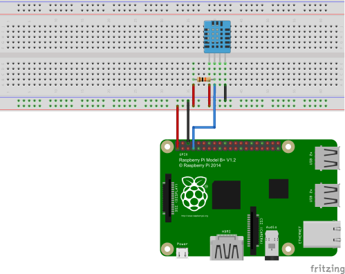 small resolution of raspberry pi humidity temperature sensor construction