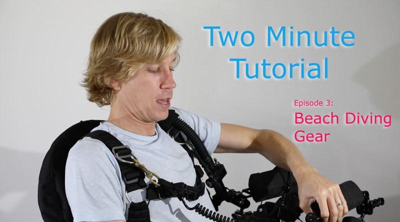 beach diving gear video thumbnail