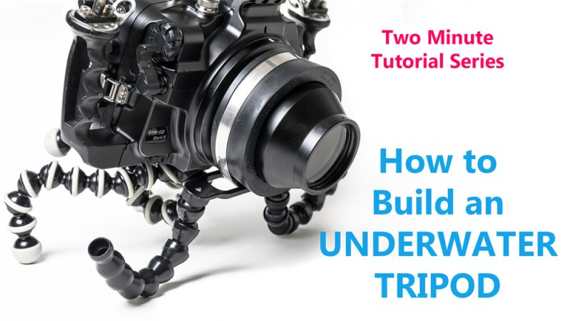 How to Build an Underwater Video Tripod | Brent Durand