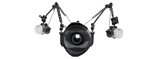 underwater camera housing gear