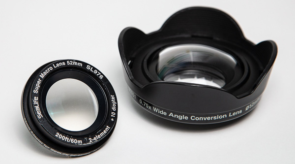 sealife macro diopter and wide angle conversion lens
