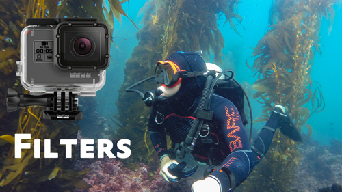 GoPro Filters and Video Lights