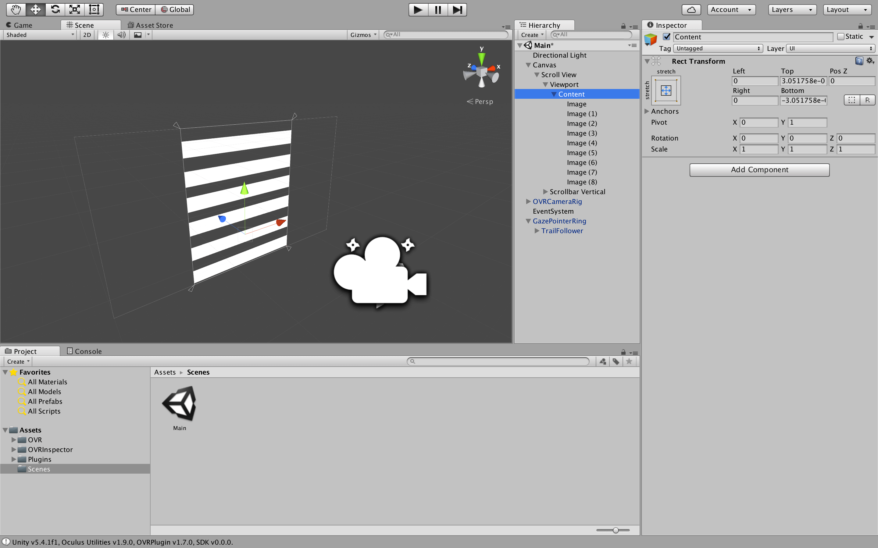 How to handle UI Events in Unity for VR VR Tutorials to Help Build