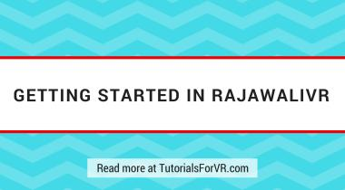 getting started in rajawali vr