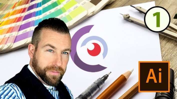Logo Design in Adobe Illustrator - for Beginners & Beyond