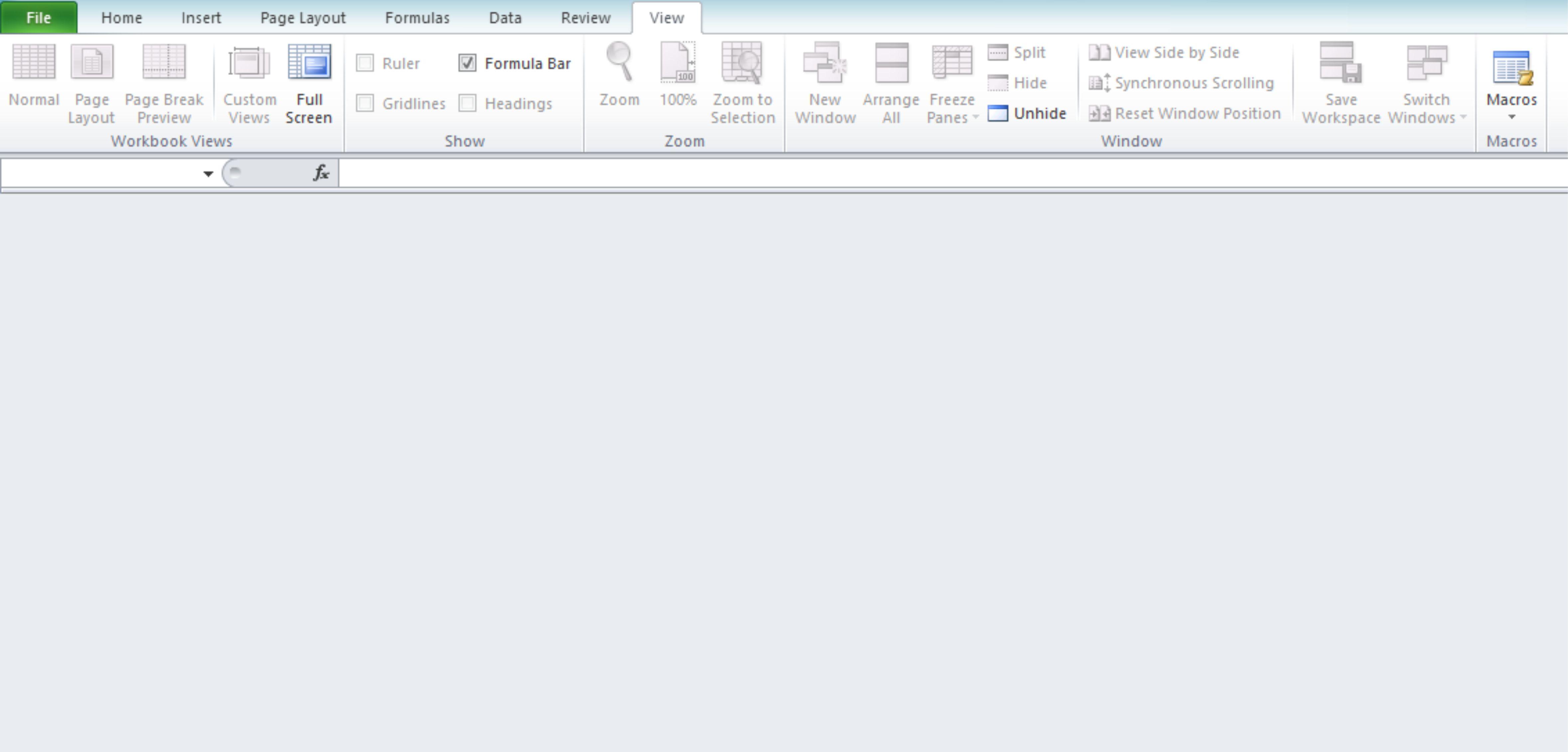 Excel Worksheet Separate Window
