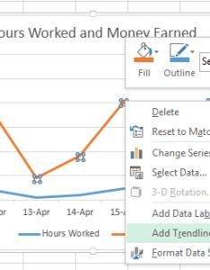 How to add trendlines  chart in excel also tutorials tree rh tutorialstree