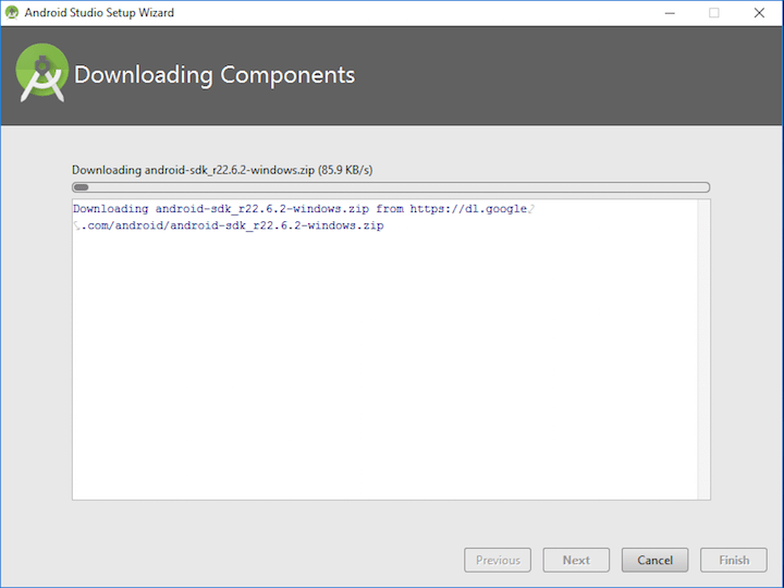 Tutorialwing - Android SDK component setup step-5