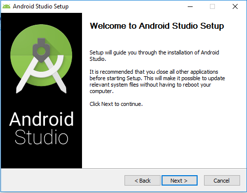 Tutorialwing - Android Studio Install Step-1