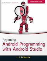 Recommended Book Android Application Development With Android Studio