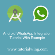 Tutorialwing WhatsApp Integration Tutorial with example