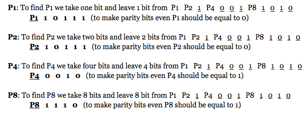 Tutorialwing hamming code finding parity bits error correction technique