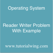 Tutorialwing operating system Reader Writer Problem in os with example