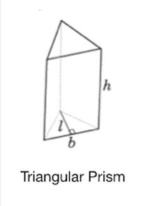 Tutorialwing Math Solid triangular prism