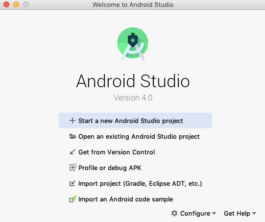 Tutorialwing Android Create Project in Android Studio step by step 1
