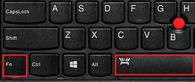 tombol lampu Keyboard lenovo