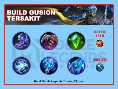 build gusion tersakit