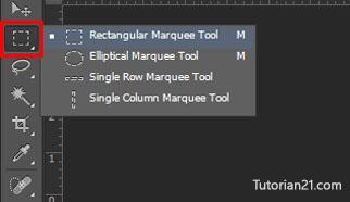 rectangular lasso tool