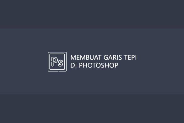 cara membuat border di photoshop