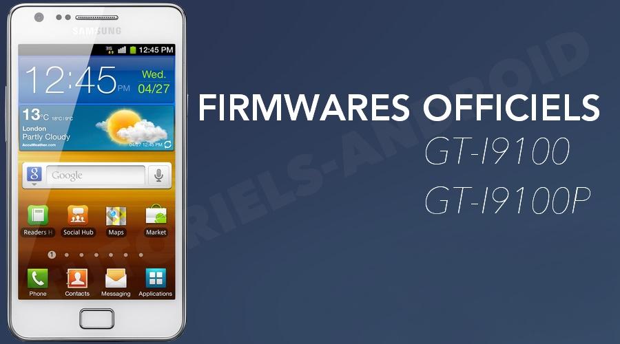 Firmwares stocks GALAXY S2