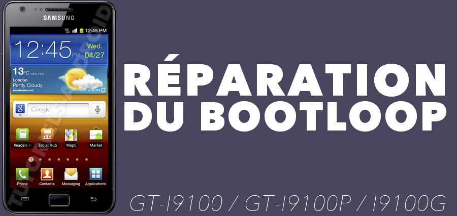 Réparer Bootloop GALAXY S2