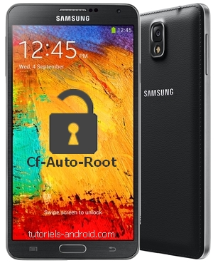 CF-AUTO-ROOT pour GALAXY Note 3