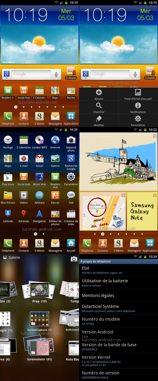 N7000XXKL8 Android 2.3.6