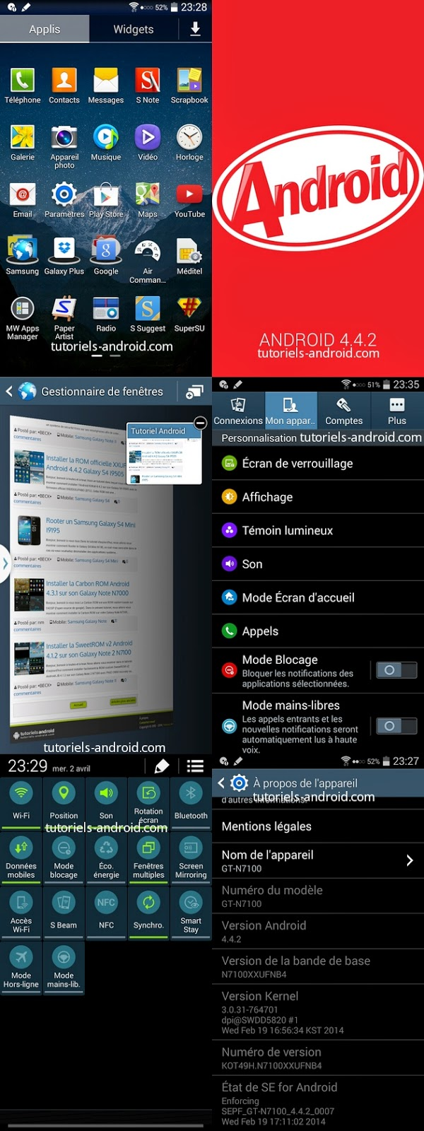kitkat 4.4.2 galaxy note 2