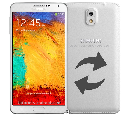 ROMs stocks GALAXY Note 3