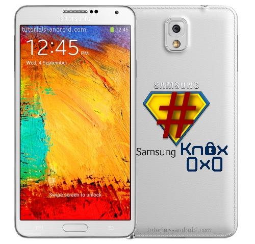 Rooter votre Galaxy Note 3 sans incrémenter le compteur KNOX