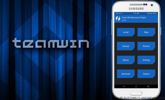 TWRP pour GALAXY S4 Mini