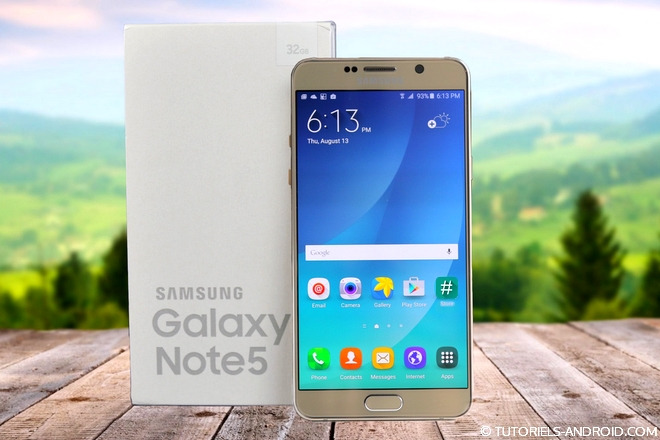 Auto ROOT GALAXY Note 5