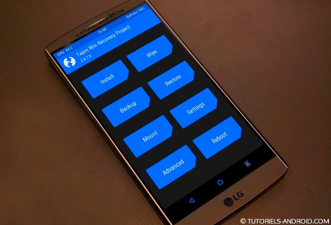 ROOT + TWRP pour LG G3