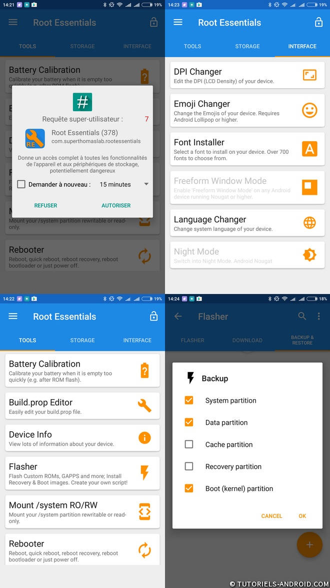 ROOT Essentials pour Android