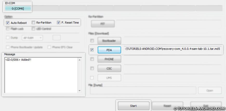 Odin3 : COM connecté