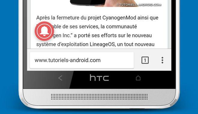 Déplacer barre d'adresse de Google Chrome