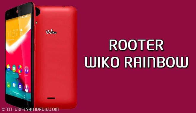 ROOT du Wiko Rainbow